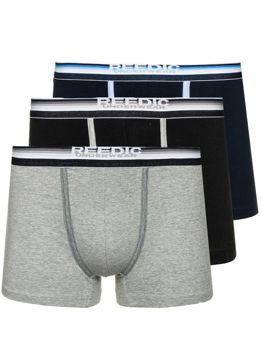 Bolf Boxershorts für Herren Mehrfarbig B050-3P3 PACK