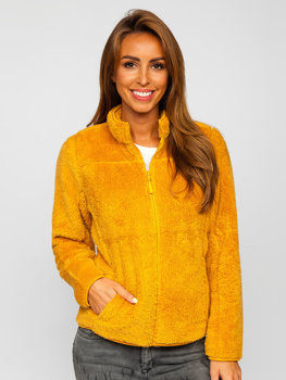 Bolf Damen Fleece Jacke Camel  HH006