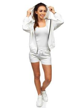 Bolf Damen Sportanzug Weiß  2062