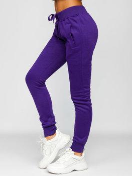 Bolf Damen Sporthose Dunkel Violett  CK-01