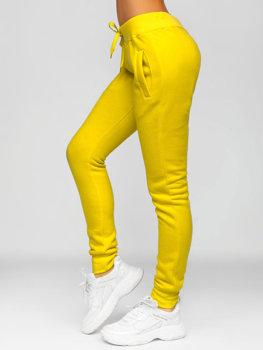 Bolf Damen Sporthose Gelb   CK-01-28