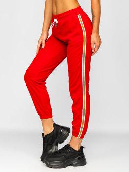 Bolf Damen Sporthose Rot  YW01020B