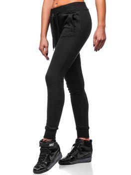 Bolf Damen Sporthose Schwarz  77001
