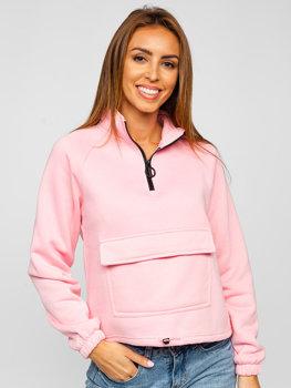 Bolf Damen Sweatshirt Rosa  KSW2032