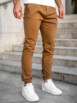 Bolf Herren Jogger Pants Camel 0905