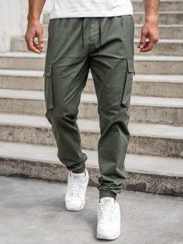 Bolf Herren Jogger Pants Cargohose Khaki  701