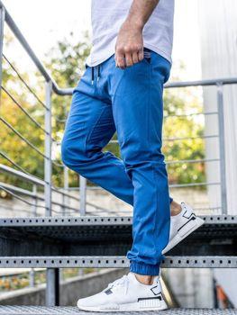 Bolf Herren Joggerhose Blau  0449