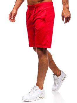 Bolf Herren Kurze Sporthose Rot  AA10-A