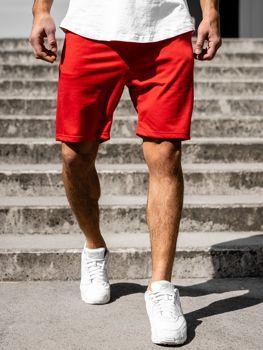 Bolf Herren Kurze Sporthose Rot B1002