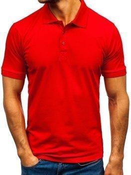 Bolf Herren Poloshirt Rot  171221