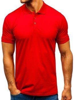 Bolf Herren Poloshirt Rot  9025
