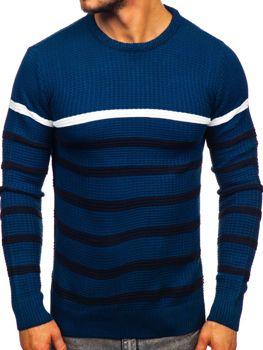 Bolf Herren Pullover Blau  1951