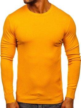 Bolf Herren Pullover Gelb  YY01