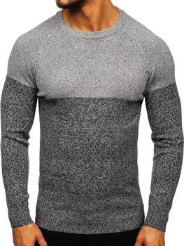 Bolf Herren Pullover Grau  H1809