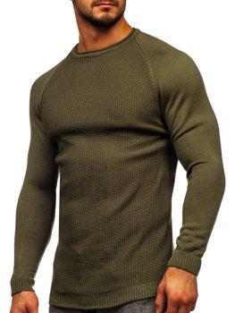 Bolf Herren Pullover Grün  1009