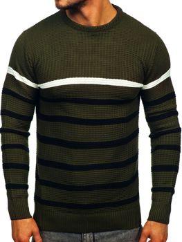 Bolf Herren Pullover Grün  1951