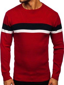Bolf Herren Pullover Rot  H2072