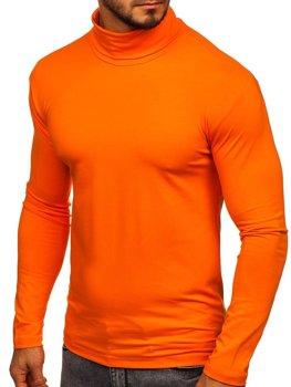 Bolf Herren Rollkragen Orange  S6963