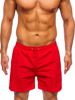 Bolf Herren Shorts Badehose Rot  YW07003
