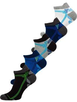 Bolf Herren Socken Mehrfarbig  X10054-5P 5 PACK
