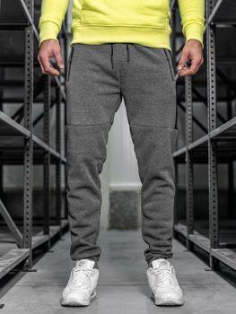 Bolf Herren Sporthose Grau  JX8957