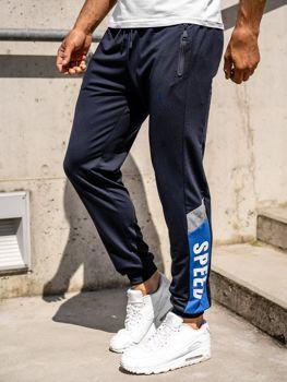 Bolf Herren Sporthose Jogger Pants Dunkelblau  HY717