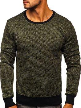 Bolf Herren Sweatshirt Khaki  2001-3