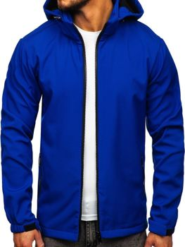 Bolf  Herren Übergangsjacke Softshell Jacke Blau  56008