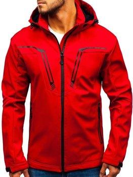 Bolf Herren Übergangsjacke Softshell Jacke Rot  5427