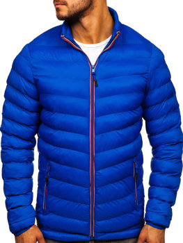 Bolf Herren Übergangsjacke Sport Jacke Blau  SM71