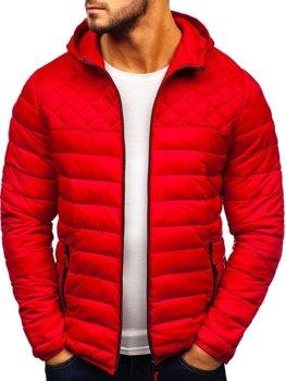 Bolf Herren Übergangsjacke Sport Jacke Rot  LY1010