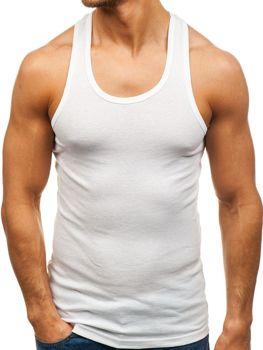 Bolf Herren Unterhemd Weiß  C10013-B