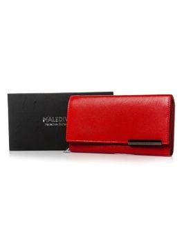 Damen Ledergeldbörse Rot 2689