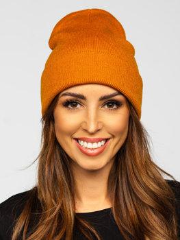 Damen Wintermütze Camel YW09004
