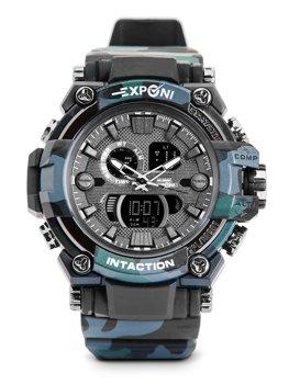 Herren Armbanduhr Camo Schwarz  3258