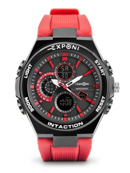 Herren Armbanduhr Rot  3285