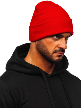 Wintermütze für Herren Rot YW09004M