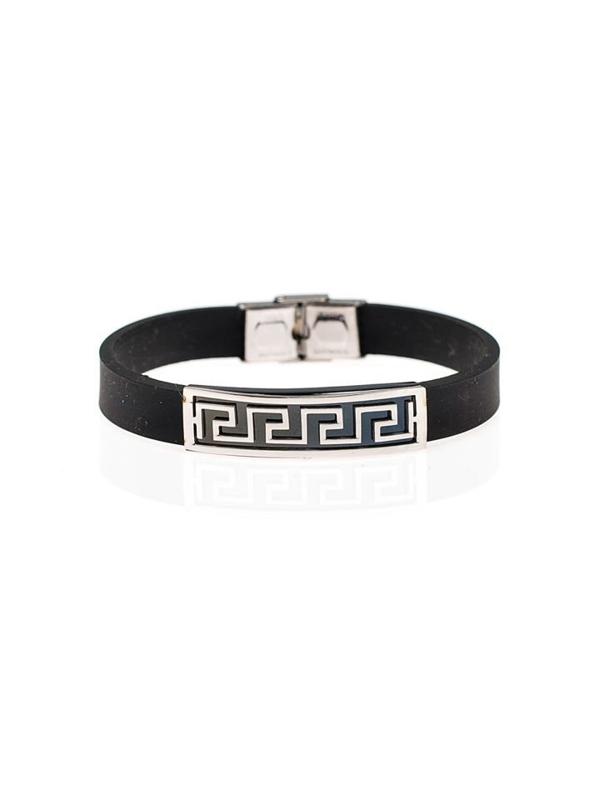 Bolf Herren Armband Schwarz B052