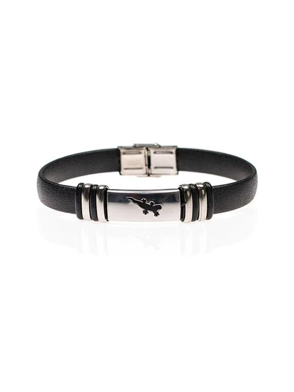 Bolf Herren Armband Schwarz B071