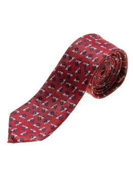 Bolf Herren Krawatte Elegant Rot  K103