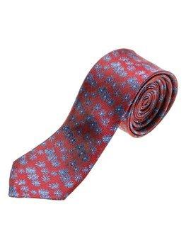 Bolf Herren Krawatte Elegant Weinrot  K107
