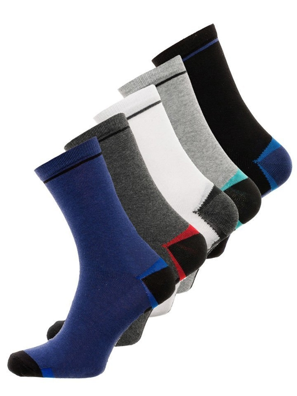 Bolf Herren Socken Mehrfarbig  X10009-5P 5 PACK