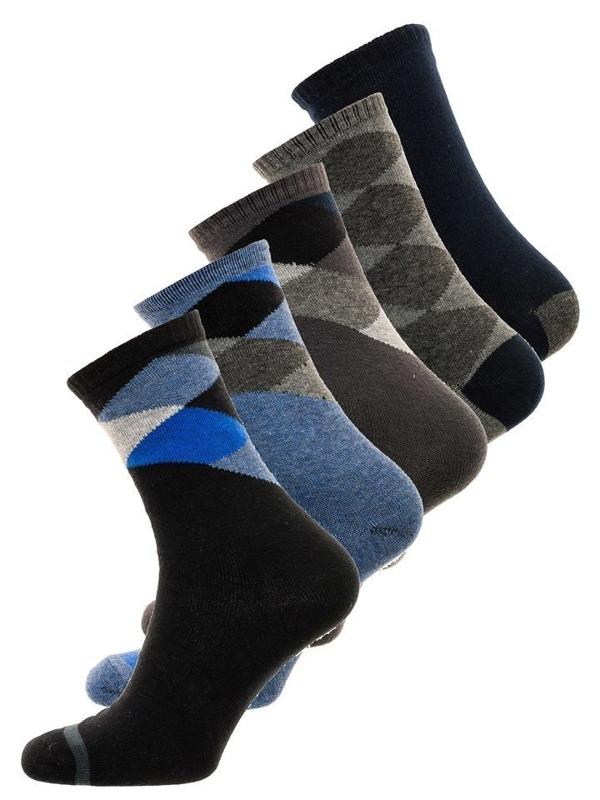Bolf Herren Socken Mehrfarbig  X10074-5P 5 PACK