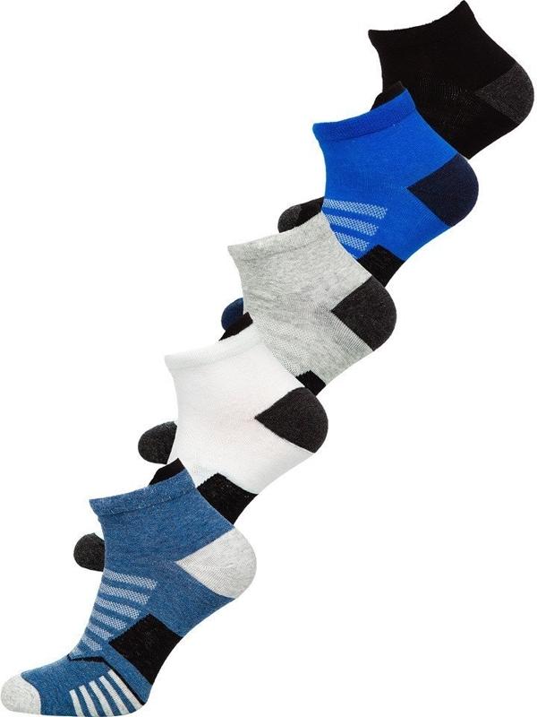 Bolf Herren Socken Mehrfarbig  X10135-5P 5 PACK