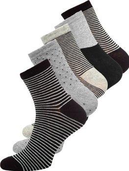 Bolf Herren Socken Mehrfarbig X10166-5P 5er PACK