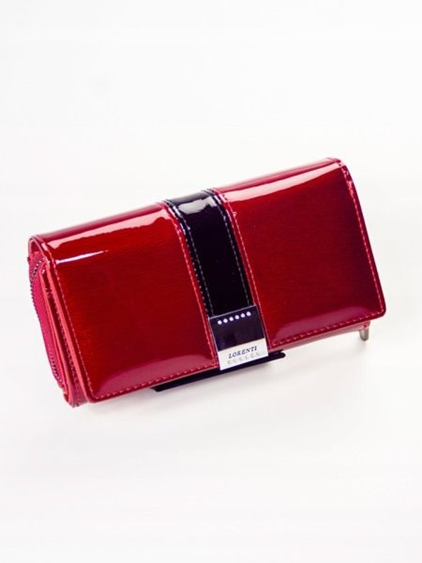 Damen Ledergeldbörse Rot 1212