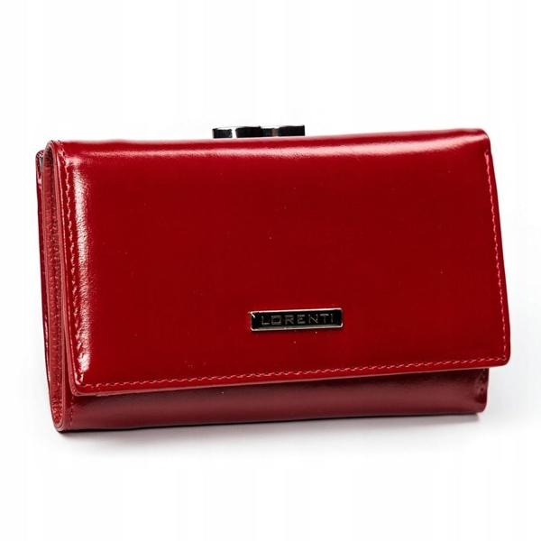 Damen Ledergeldbörse Rot 2907