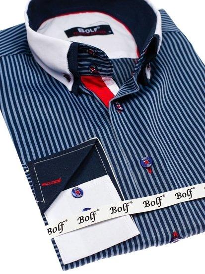 Bolf Bolf Herren Hemd Elegant Langarm 2790 2790