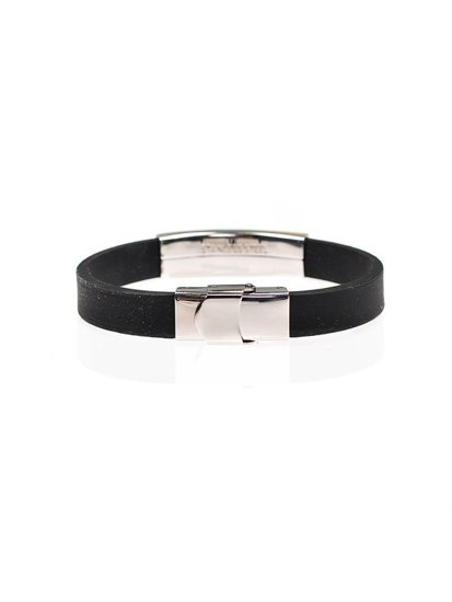 Bolf Herren Armband Schwarz B054
