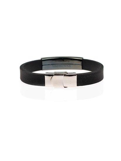 Bolf Herren Armband Schwarz B060